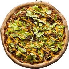Kotipizza Burgerpizza